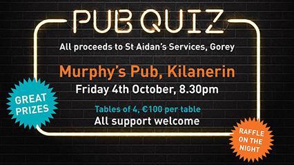 Pub Quiz, Murphy's Pub, Kilanerin